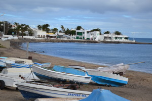 Strand von Playa Honda Lanzarote