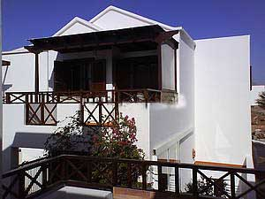 Terrasse Apartment Lanzarote die Kanaren Insel