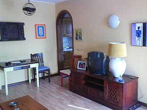 Wohnzimmer apartment lanzarote die Kanaren Insel