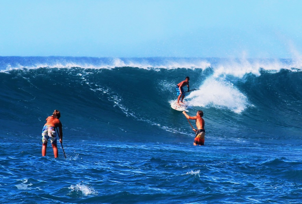 Stand Up Paddle Wellenreiten & Big wave surfen