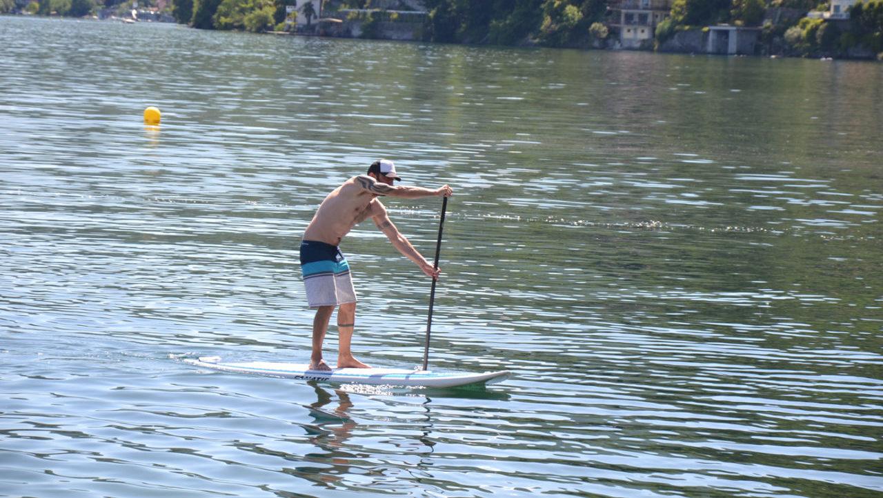 cannero lago maggiore stand up paddle tour
