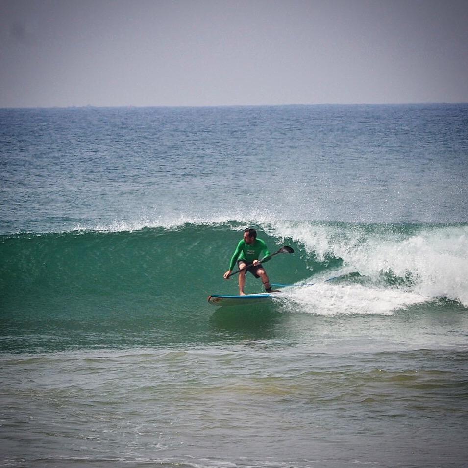 SUP surfing Sri Lanka