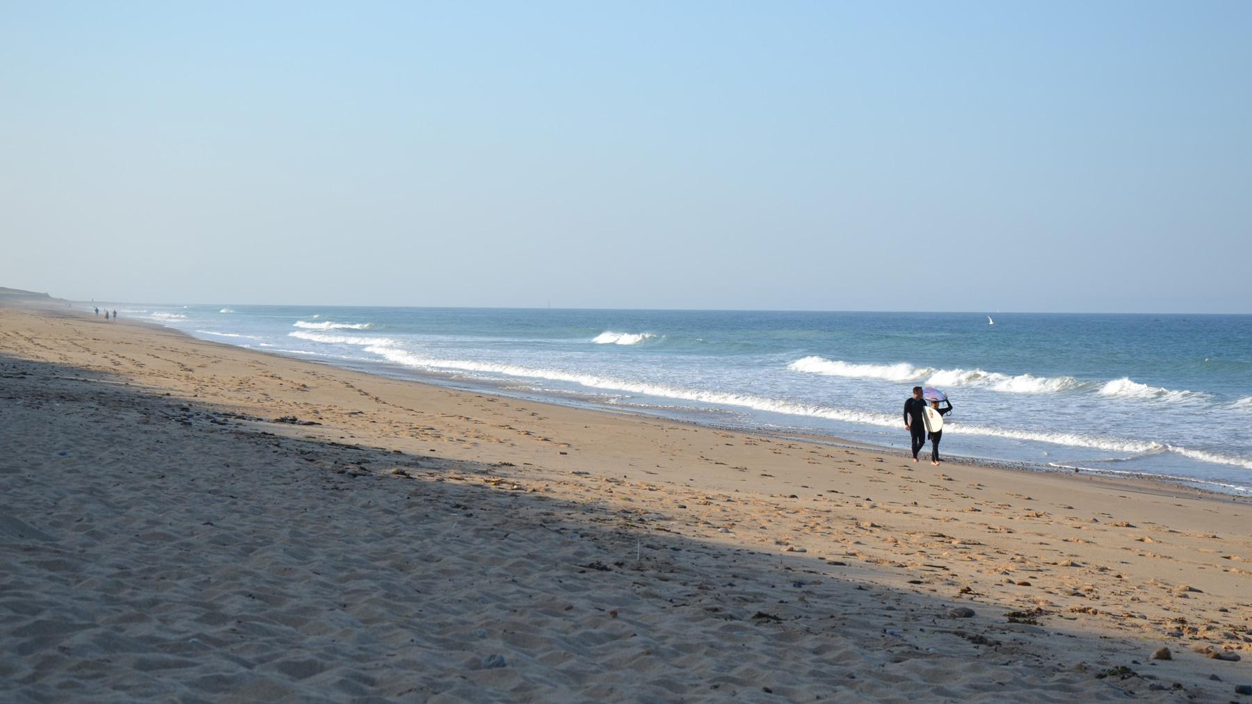 Urlaub zum SUP Surfing an der französischen Atlantikküste