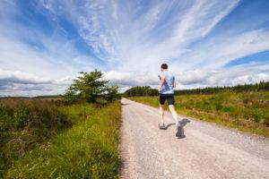 Laufen als Ausgleich zum SUP