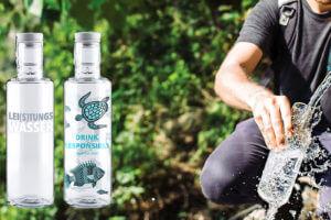 Nachhaltige Co2 neutrale Glastrinkflaschen ein Beitrag zur Müllvermeidung