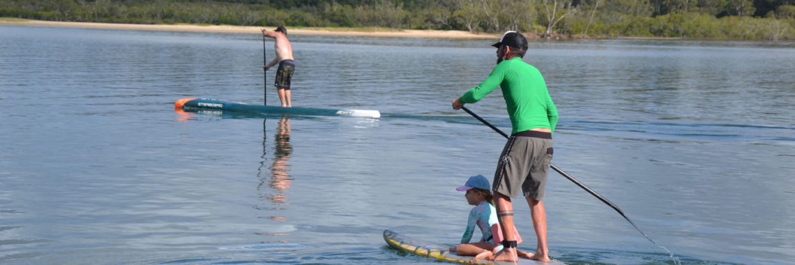 Stand-Up-Paddle Reise mit Familie nach Australien
