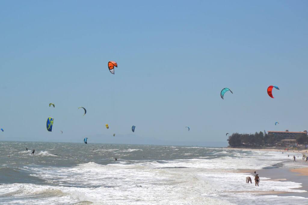 Eine Kite Reise nach Vietnam - Mui Ne