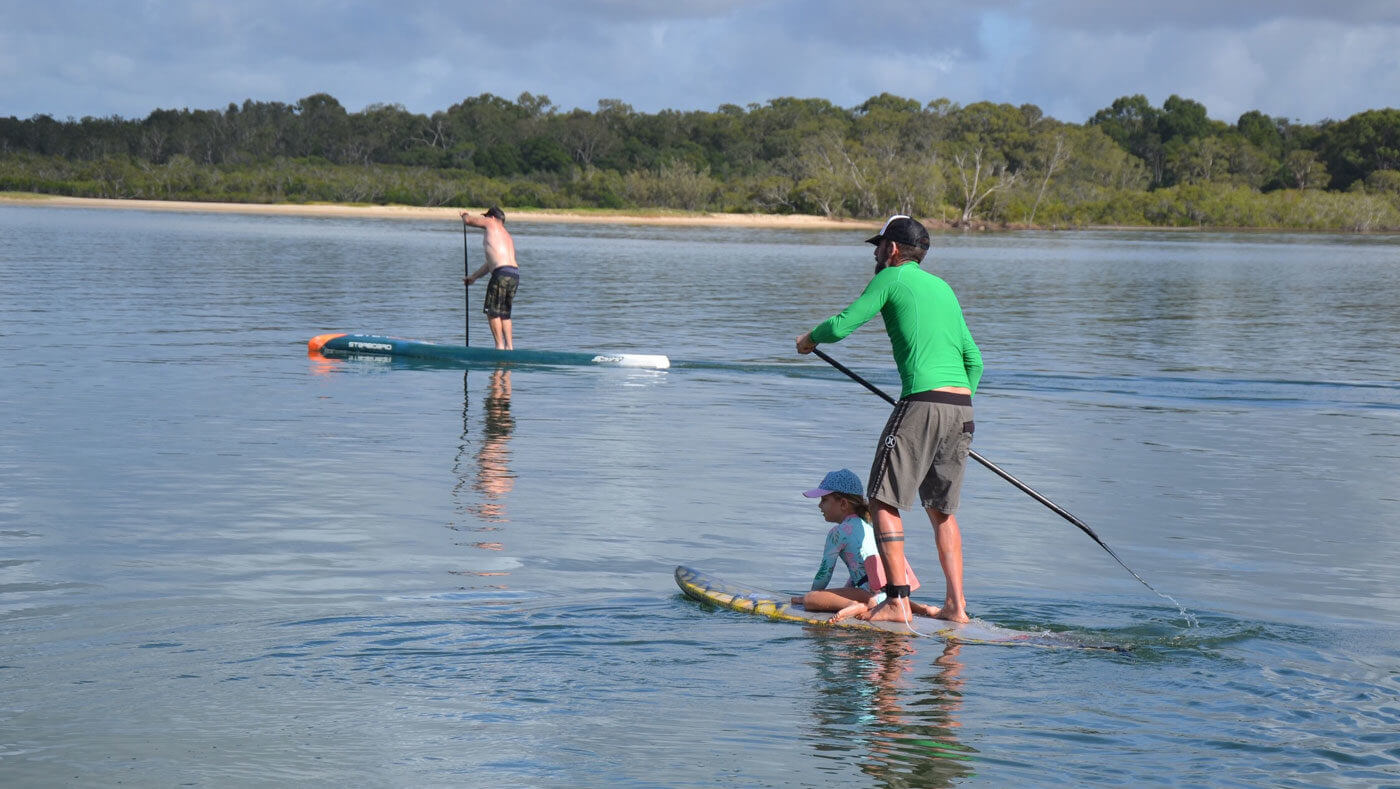 SUP Surf Spots an Australiens Sunshine Coast