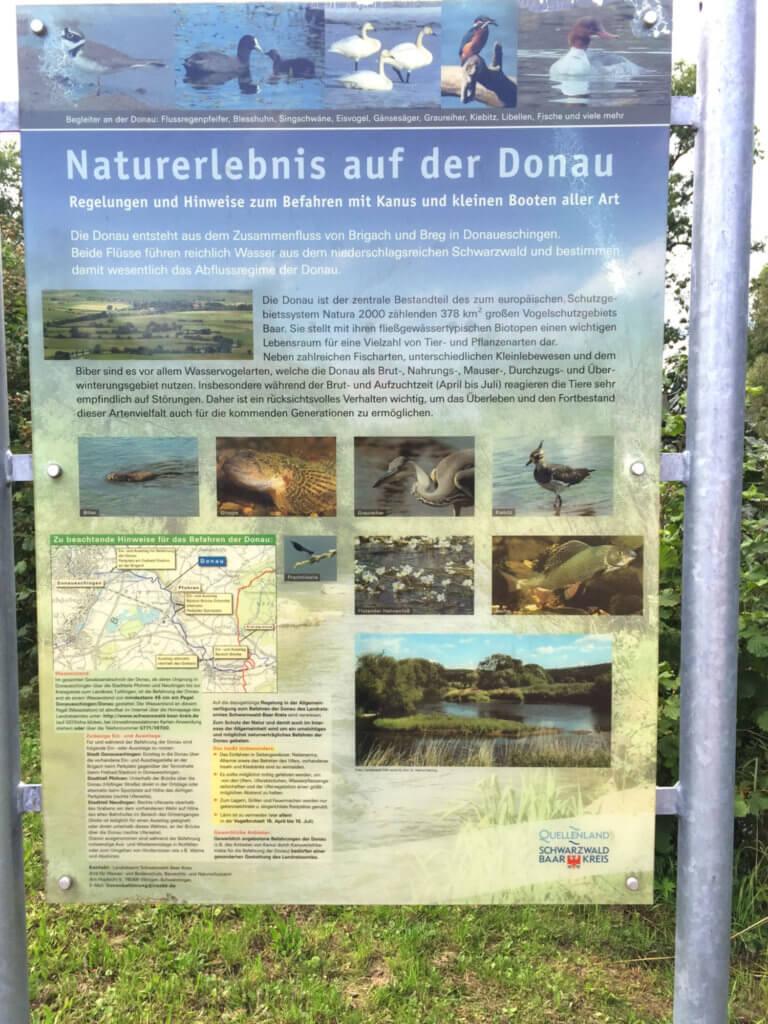 SUP Tour auf der Donau